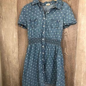 Mossimo Denim Star Short Dress Size M